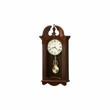 Malia Cherry Bordeaux Wall Clock - Howard Miller