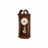 Teressa Quartz Wall Clock in Heirloom Cherry - Howard Miller