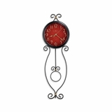 Addison Wrought Iron Wall Clock - Howard Miller