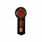 Alexi Wall Clock in Black - Howard Miller