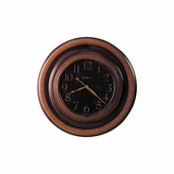 Rockwell Oversized Gallery Wall Clock in Brown - Howard Miller