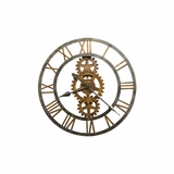 Crosby Metal Gallery Wall Clock - Howard Miller