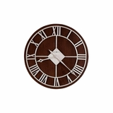 Prichard Round Metal Wall Clock - Howard Miller