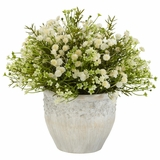 Mixed Mini Daisy Silk Plant (Indoor/Outdoor) - Nearly Natural - 4125