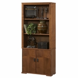 Bookcase in Mahogany - Mission Nuevo - Inspirations by Broyhill - 305-121