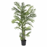 5' Areca Silk Palm Tree in Green - Nearly Natural - 5274