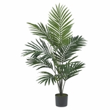 5' Kentia Palm Silk Tree in Green - Nearly Natural - 5296