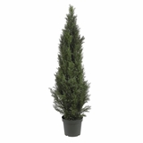 5' Mini Cedar Pine Tree in Green - Nearly Natural - 5291