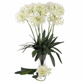 29 African Lily Stem (Set of 12) - Nearly Natural - 2129-WH