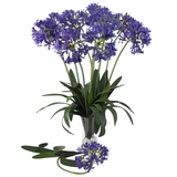 29 African Lily Stem (Set of 12) - Nearly Natural - 2129-PP