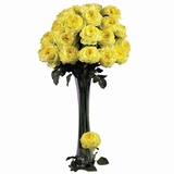 31 Large Rose Stem (Set of 12) - Nearly Natural - 2127-YL