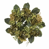 18 Artichoke Wreath in Green - Nearly Natural - 4628