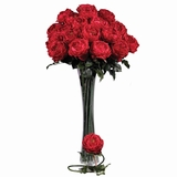 31 Large Rose Stem (Set of 12) - Nearly Natural - 2127-RD