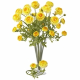 23 Ranunculus Stem (Set of 12) - Nearly Natural - 2108-YL