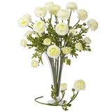 23 Ranunculus Stem (Set of 12) - Nearly Natural - 2108-WH