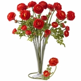 23 Ranunculus Stem (Set of 12) - Nearly Natural - 2108-RD