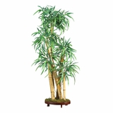 42 Chinese Style Bamboo Silk Tree in Green - Nearly Natural - 5205