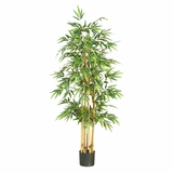 64 Bamboo Silk Tree in Green - Nearly Natural - 5253