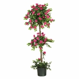 5' Mini Bougainvillea Topiary in Beauty - Nearly Natural - 5228