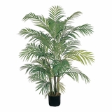 4' Areca Silk Palm Tree in Green - Nearly Natural - 5001