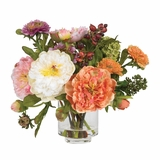 Peony Silk Arrangement in Asst - Nearly Natural - 4689