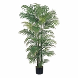 6' Areca Silk Palm Tree in Green - Nearly Natural - 5002