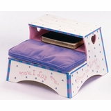 Kids Step Stool - Girl Prayer Stool - OSS30011