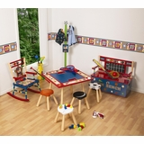 Kids Table and Chair Set - All Star Sports Kids Furniture Set