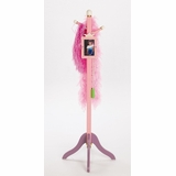 Kids Coat Rack / Growth Chart - Princess Clothestand / Growth Chart - LOD20019
