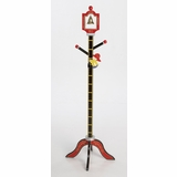 Kids Coat Rack / Growth Chart - Firefighter Clothestand/Growth Chart - LOD20039