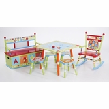 Alphabet Soup Kids Furniture Set