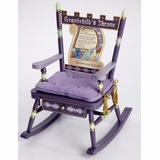 Rocking Chair for Kids - Grandchild's Throne Rocker - RAB00036
