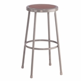 Lab Stool - 30 Stool with Hardboard Seat - National Public Seating - 6230