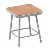 Lab Stool - 18 Stool with Hardboard Seat - National Public Seating - 6318
