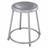 Lab Stool - 18 Stool with Padded Seat - National Public Seating - 6418