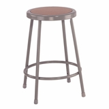Lab Stool - 24 Stool with Hardboard Seat - National Public Seating - 6224