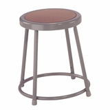 Lab Stool - 18 Stool with Hardboard Seat - National Public Seating - 6218