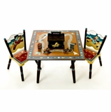 Table and Chair Set - Wild West - LOD72002