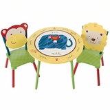 Kids Table and Stool Set - CoCaLo Jungle Jingle - LOD70202