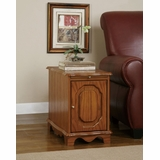 Magazine Cabinet Table - Nostalgic Oak - Powell Furniture - 843