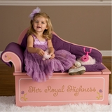 Princess Fainting Couch with Storage - LOD20053