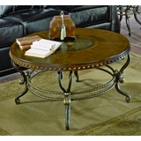 Round Cocktail Table in Cherry - 5553-01