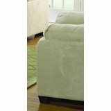 Chair in Buff Microfiber - 9840BF-1