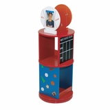 Kids Bookcase - All Star Revolving Bookcase - LOD20048