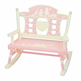 Kids Rocker - Rock-A-My-Baby Double Bench Rocker - RAB10011