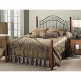 Martino Queen Size Bed - Hillsdale Furniture - 1392BQR