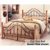 Full Size Bed - San Marco Full Size Metal Bed