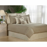 Cal King Size Comforter Set - 14 Piece Set in Alden Pattern - 80EQ714ALD