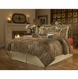 Cal King Size Comforter Set - 14-Piece Super Pack in Manchester Pattern - 80EQ714MCS