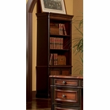 Bookcase in Cappuccino / Dark Oak - Coaster